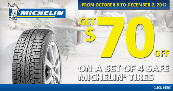 Costco Extra 70 Off On A Set Of 4 Michelin Winter Tires Until Dec