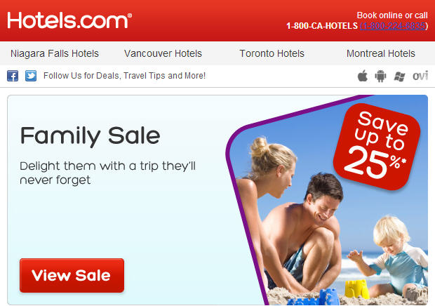 Hotels Family Sale - Save up to 25 Off (Book by Feb 18)
