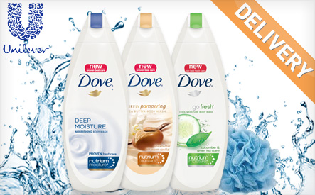 Dove Moisturizing Body Wash Set