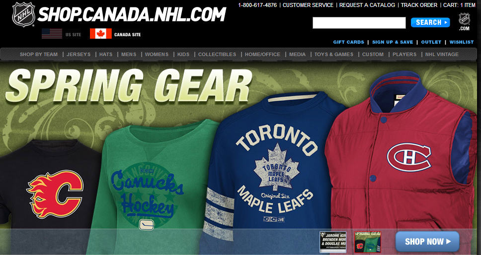 NHL Official Online Store 30 Off + Free Shipping Discount Code