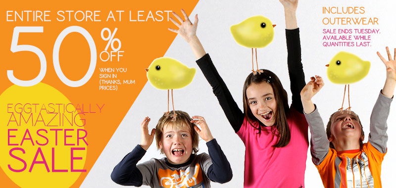 Please Mum Save at Least 50 Off Entire Store (Until Apr 2)