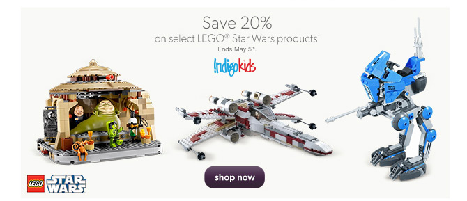 Chapters Indigo Save 20 Off Lego Star Wars Products