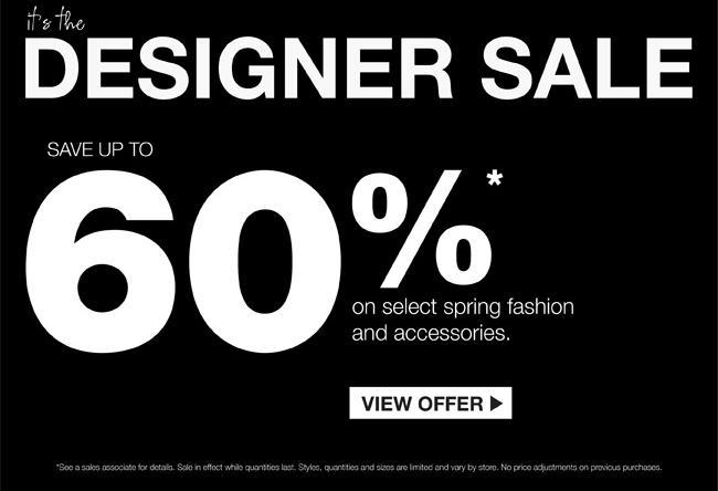 Holt Renfrew Designer Sale - Save up to 60 Off Select Spring Fashion