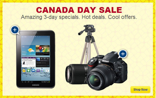 Best Buy Amazing 3-Day Canada Day Sale (June 28-30)