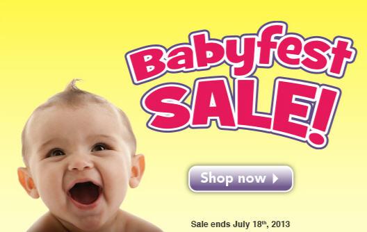 Babies R Us BabyFest Sale (July 5-18)
