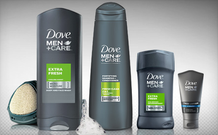 Dove Men Care Shower Kit