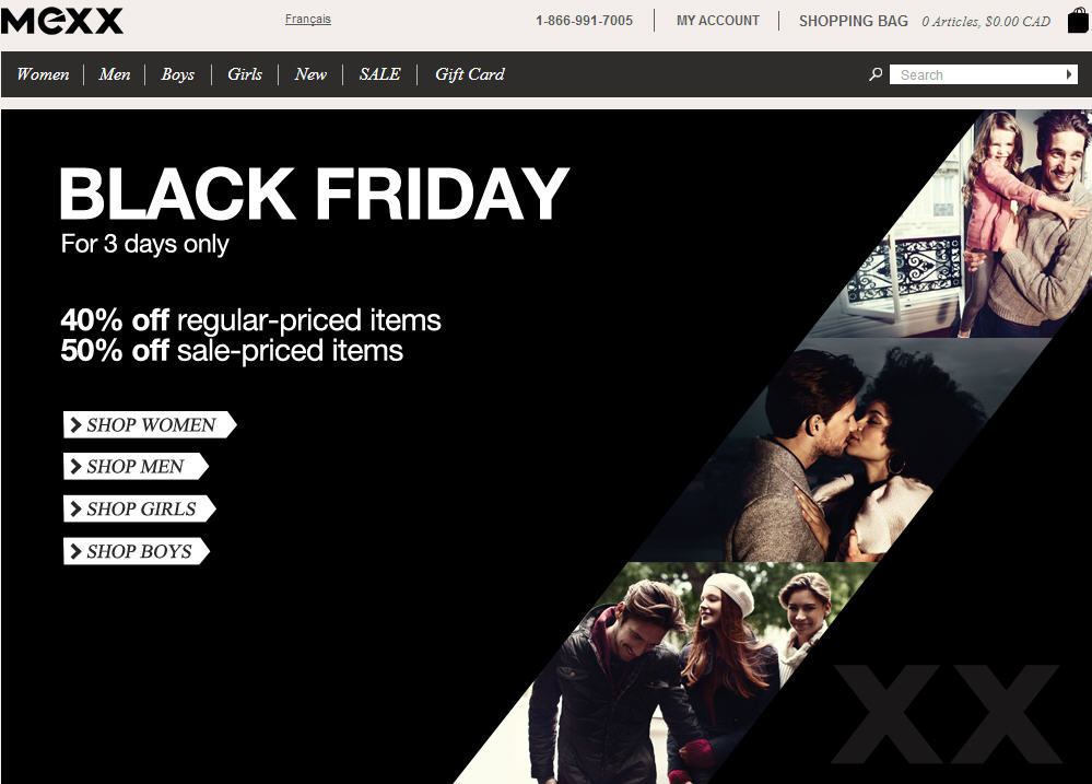 Mexx Black Friday Sale - 40 Off Regular-Priced Adult & Youth