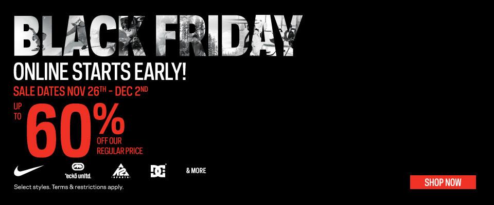 Sport Chek Black Friday Online Sale Starts Now (Nov 26 - Dec 2)