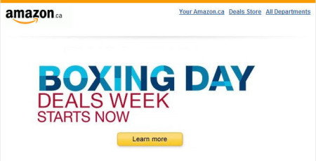 Amazon Boxing Day Deals Week Starts Now