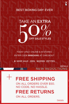 Banana Republic Extra 50 Off Sale Styles (Dec 26)