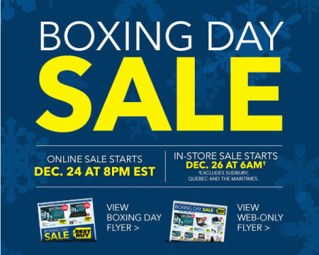 Best Buy Boxing Day Sale - Early Flyer Preview