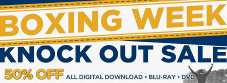 CineplexStore Boxing Week Sale - 50 Off All Digital Download, Blu-Ray and DVD + Free Movie Ticket