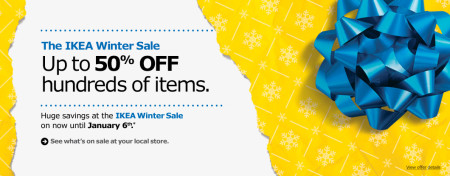 IKEA Winter Sale - Up to 50 Off Hundreds of Items (Until Jan 6)