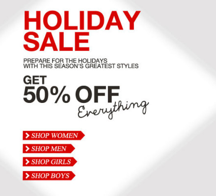 Mexx Holiday Sale - 50 Off Everything (Until Dec 25)