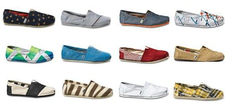 TOMS Shoes Boxing Week - 15 Off Any Purchase + Free Shipping (Dec 23-29)