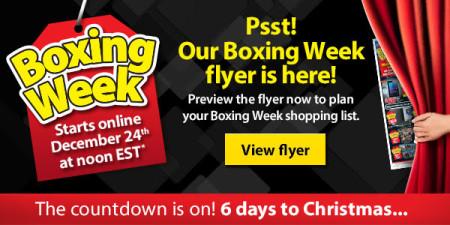 Walmart Boxing Week Flyer is here (Starts Dec 24)