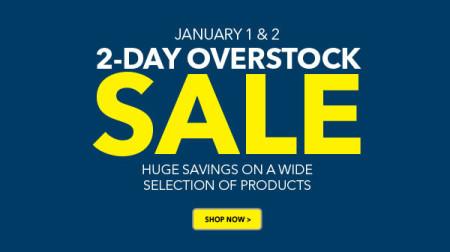Best Buy 2-Day Overstock Sale (Jan 1-2)