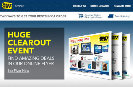 Best Buy Huge Clearout Event (Jan 10-16)