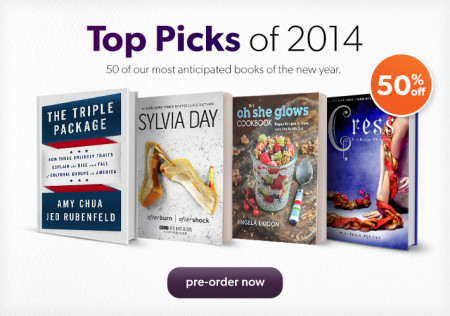 Chapters Indigo 50 off Top 50 Books of 2014 + 15 Off Weekends Promo Code