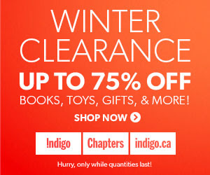 Chapters Indigo Winter Clearance Sale
