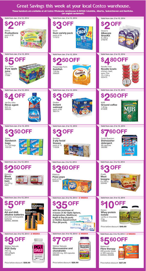 Costco coupons january 2019