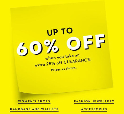 Hudson's Bay Winter Clearance - Save up to 60 Off