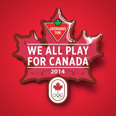 Canadian Tire FREE We Play for Canada Olympic Pin (Feb 8)