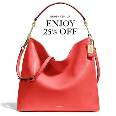 Coach 25 Off Your Purchase Coupon (Feb 14-21)