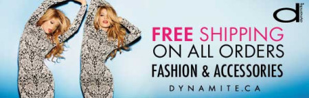 Dynamite Clothing Valentine's Special - Free Shipping on All Orders (Feb 6-10)