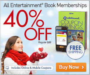 Entertainment All 2014 Coupon Books 40 Off + Free Shipping (Until Feb 9)