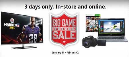 Future Shop Big Game Gadgets Sales