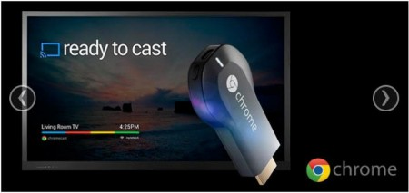 Google Chromecast - $39 for a HDMI Streaming Media Player (35 Off)
