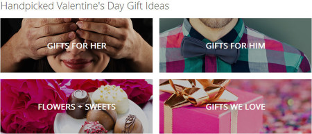 Groupon Valentine's Day Gift Ideas and Deals