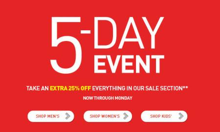 PUMA Extra 25 Off All Sale Items (Until Feb 17)