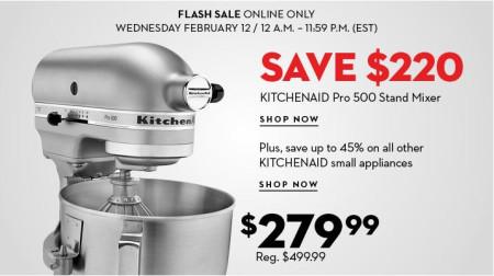 TheBay Flash Sale - 45 Off KitchenAid Small Appliances (Feb 12)