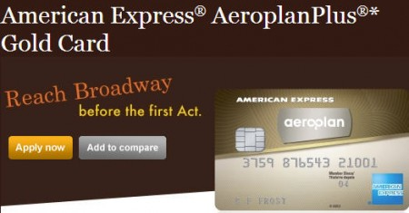 VERY HOT DEAL Amerian Express AeroplanPlus Gold Card - FREE Flight to Anywhere in North America