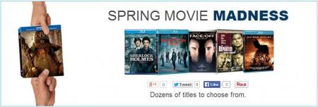 Best Buy Spring Movie Madness Sale (Until Mar 26)