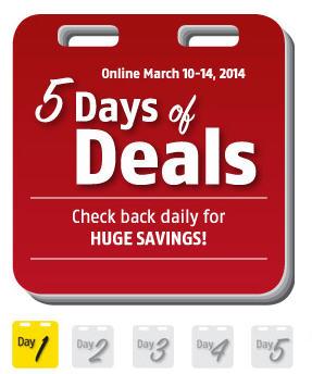 Future Shop 5 Days of Deals (Mar 10-14)