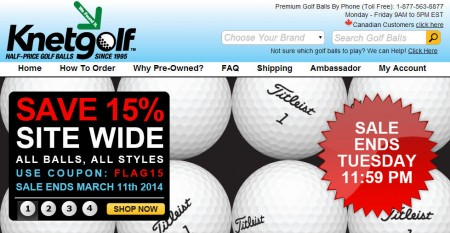 Golfballs.com coupon code