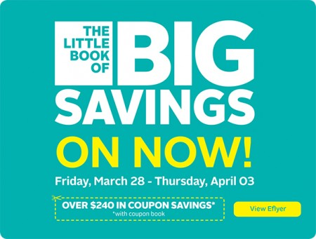 Rexall Over $240 in Coupon Savings Book (Mar 28 - April 3)
