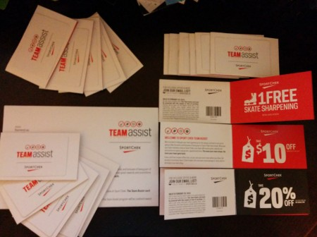 I just received my Sport Check Team Assist Package. Sign-up now and get yours for free.