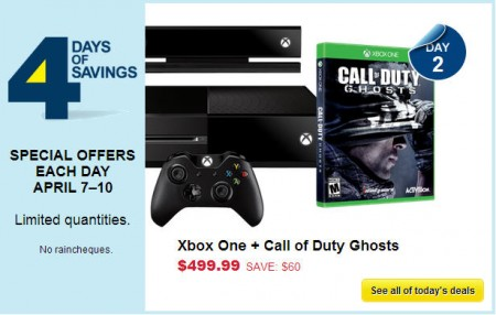 Best Buy 4 Days of Savings - Special Offers Each Day (Apr 7-10)