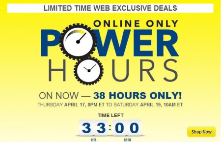 Best Buy Online Only Power Hours