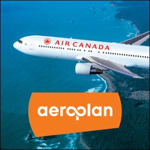 FREE 30000 Aeroplan Miles