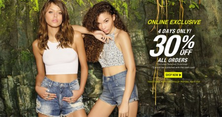 Garage Clothing 30 Off + Free Shipping on All Orders