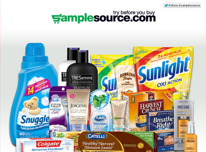 SampleSource New FREE Samples - Try Before You Buy