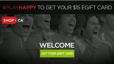 Shop FREE $15 Off eGift Card Promo Code