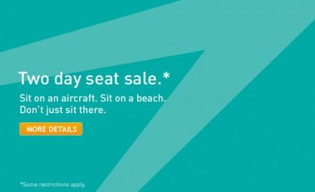 WestJet Two Day Seat Sale (Book by Apr 16)