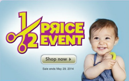 Babies R Us Half Price Event (Ends May 29)