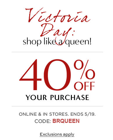 Banana Republic Long Weekend Sale - 40 Off Your Purchase (Until May 19)